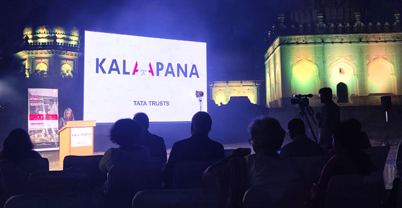 Deepika Sorabjee, Head, Arts and Culture, Tata Trusts, introduces Kalapana and the work of Tata Trusts' partners in the field of built heritage and film conservation.