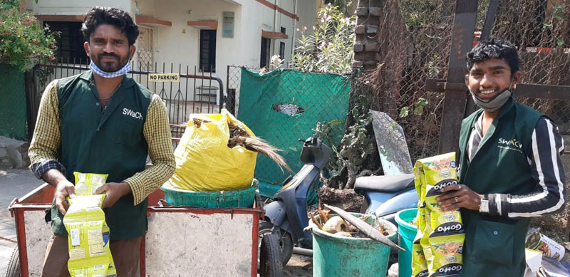 GoMo for frontline workers – Pune's sanitation heroes (supported by Pune's Swach Cooperative)