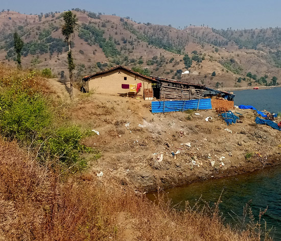 The remote village beyond the backwaters of River Narmada