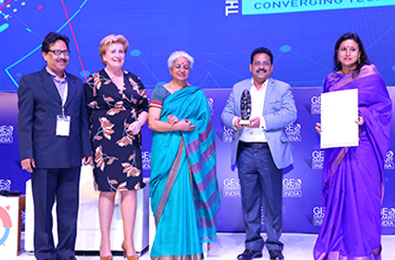 Government of Odisha and Tata Trusts awarded the Geospatial Excellence Awards 2019