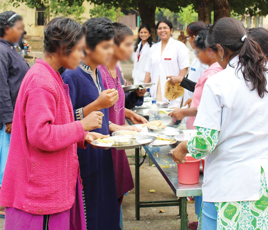 Inmates at the Regional Mental Hospital Nagpur now decide their own portions