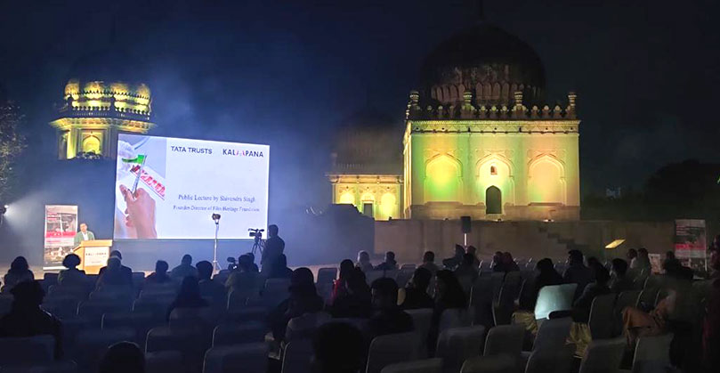 Public lecture by Shivendra Singh Dungarpur, Founder-Director Film Heritage Foundation
