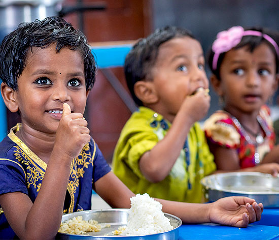 Fortified rice helps address micronutrient deficiency in children