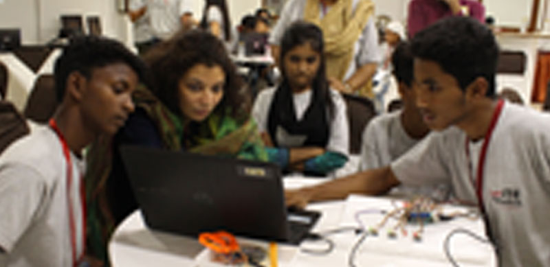 Teachers and Students at an interstate Young Producers Camp in Delhi, 2019