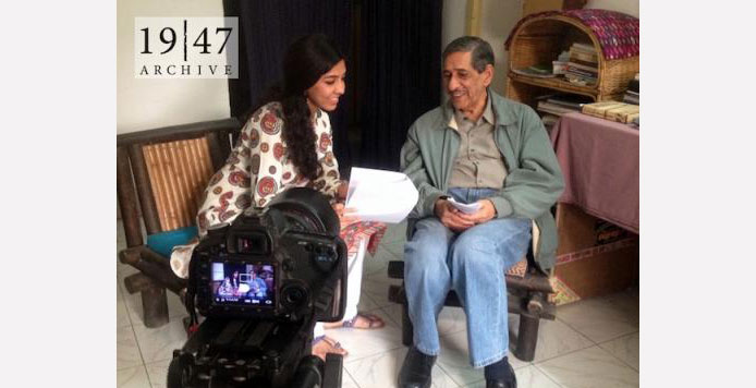 With physical recording of oral histories suspended due to the pandemic, 1947 Partition Archives starts weekly Facebook live series themed around the partition.