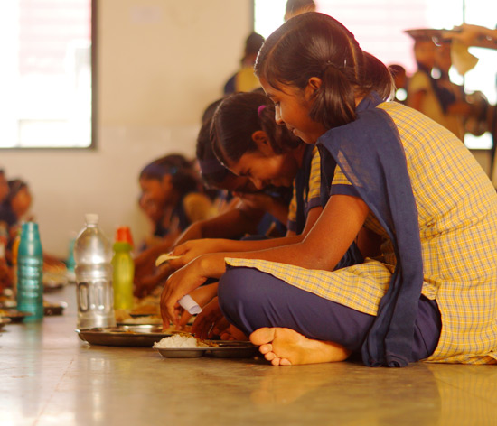 Annapoorna kitchens funded by Tata Trusts