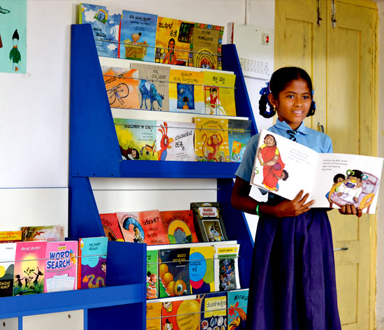 The interactive sessions at Parag libraries have instilled confidence amongst the students