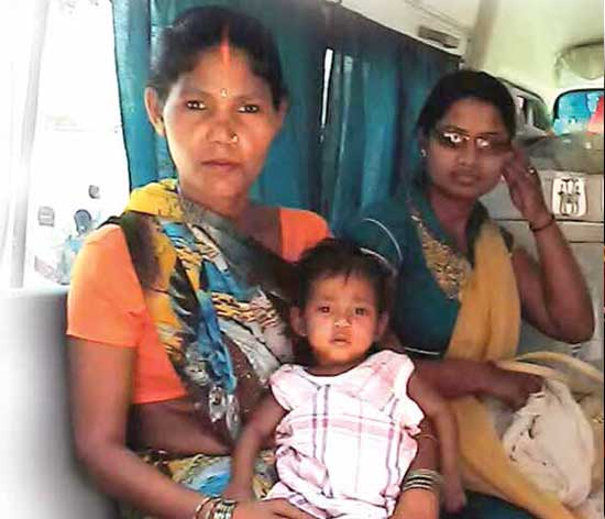 Mewati was determined to get her underweight daughter treated. Her awareness has saved her child's l