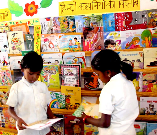Tata Trusts' efforts have helped children to have easy access to books